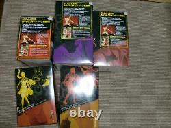 High School Of The Dead Chara-ani Figure 5 Types Set + Super Rare Special Parts