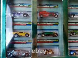 Hot Wheels 2000 Treasure Hunt Factory Set withWhite Shipper Box 1/3500 super rare