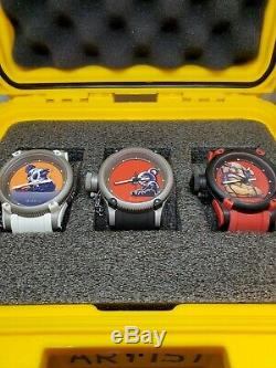 Invicta Swiss Made Ernie Vales Limited Edition Set of Watches SUPER RARE withcase