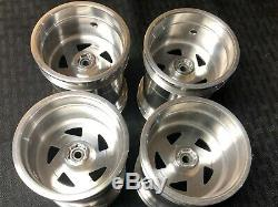 JPS Clodbuster Aluminum Directional Wheels Set Super RARE HARD TO FIND Race