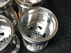 JPS Clodbuster Aluminum Directional Wheels Set Super RARE HARD TO FIND Race
