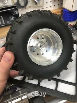 JPS Clodbuster Aluminum Wheels Set Super RARE HARD TO FIND Race Tamiya Clod Rc