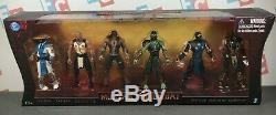 Jazwares Mortal Kombat 3.75 SUPER RARE Box Set Scorpion Sub Zero Reptile Baraka