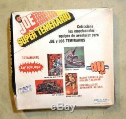Joe Super Temerario Gi joe 12 Argentina 1970s Rare Clothing Accesorie Set New