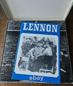 John Lennon Beatles UK 8 Apple Vinyl LP Box Set JLB8 Solo Booklet SUPER RARE