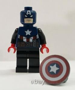 LEGO 2012 NY Toy Fair CAPTAIN AMERICA Minifigures SDCC Super Hero Marvel RARE