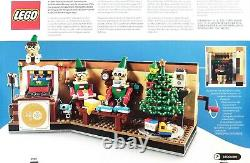 LEGO 4002020 Year 2020 EMPLOYEE CHRISTMAS GIFT with card, Super Rare New