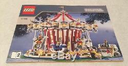 LEGO Grand Carousel Set 10196 Manual Instructions Only 2 Books Super Rare