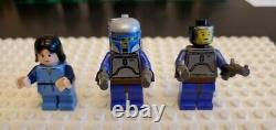 LEGO JANGO FETT MINIFIGURE STAR WARS SLAVE ONE 7153 SUPER RARE Kid Bobo Fett