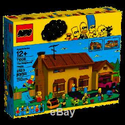 LEGO Simpsons Super Rare Simpsons House 71006 New & Sealed