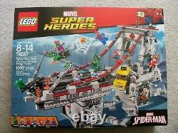 LEGO Spider-Man Rare Super Heroes 76057 Web Warrior Ultimate Bridge New