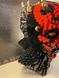 LEGO Star Wars Darth Maul Bust (10018) EUC Box & Instructions Super Rare