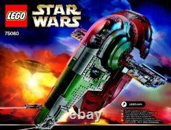 LEGO Star Wars Super Rare UCS Slave I 75060 New & Sealed Contents (No Box)