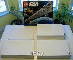LEGO Star Wars Super Rare UCS Super Star Destroyer 10221 New (no box)