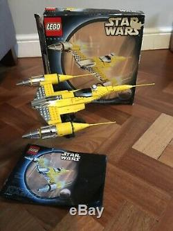 LEGO Star Wars UCS 10026 Naboo Star Fighter Super set RARE