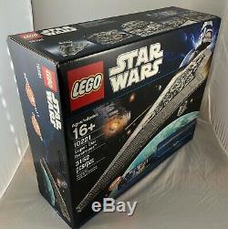 LEGO Star Wars UCS Super Star Destroyer 10221 RARE NEW SEALED RETIRED