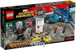 LEGO Super Hero Airport Battle 76051 Iron Man Ant Man Minifigs NEW Retired RARE