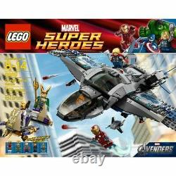 LEGO Super Heroes Avengers Rare Quinjet Aerial Battle 6869 New & Sealed
