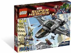 LEGO Super Heroes Rare Quinjet Aerial Battle 6869 New & Sealed
