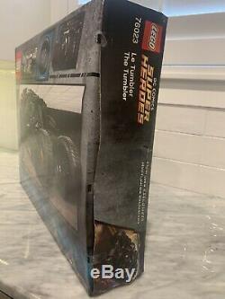 LEGO Super Heroes Tumbler 76023 Rare Factory sealed Box w Light Water Damage