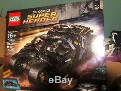 LEGO Super Heroes UCS 76023 Batman Tumbler New & Sealed RARE RETIRED