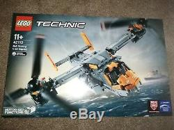 Lego 42113 Technic Bell-Boeing V-22 Osprey NEW AND SEALED MINT BOX SUPER RARE