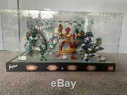 Lego Bionicle Store Display Super Rare Toa Inika, Six Figures-used