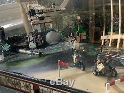 Lego Indiana Jones Raiders Super Rare Shop Display 7620 7623 illuminated 2011