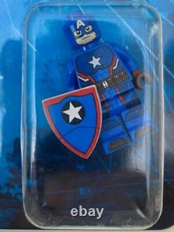 Lego Minifigure SDCC 2016 Steve Rogers Captain America Marvel Super Heroes RARE