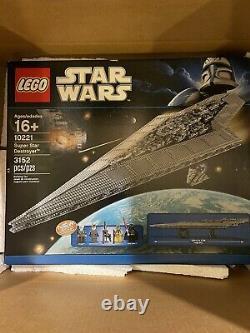 Lego Star Wars Super Star Destroyer (10221) Rare Sealed