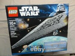 Lego Star Wars Super Star Destroyer (10221) UCS RARE and RETIRED set