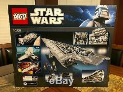 Lego Star Wars Super Star Destroyer Ucs 10221 New Sealed Very Rare