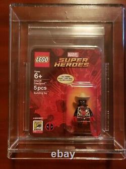 Lego sdcc sheriff deadpool super rare perfect condition