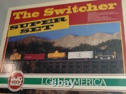 Lgb #72856 The Switcher Super Set (lgb Of America Set) New Rare
