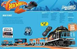 Lionel Hot Wheels Bluetooth Lionchief Train Set New Mib Sealed Super Rare Mint
