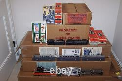 Lionel Postwar 2150ws Passenger Set From 1950 One Year Only Super Rare
