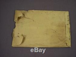 Lionel Postwar RARE Empty Super O 39-10 Set Packet Envelope Set 2511W ONLY