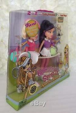 MGA Bratz 2006 Play Sportz Tennis Cloe Jade Doll Set Super RARE