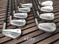 MIZUNO PRO SUPER 11 iron set 2-9/ P/F/S Rare Nickel (11x pieces) Collectors RH