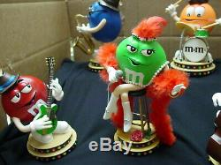 M&m Danbury Mint Rare And Super Cool 5 Figure Rock Jazz Country Band Set
