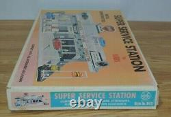 Marx Super Service Station # 3475 Rare Sealed set