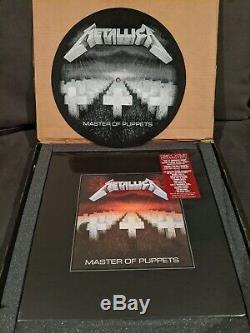 Master of Puppets Super Deluxe Box Set 3LP 10CD 2DVD RARE with Slip Mat