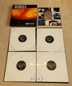 Metallica SUPER RARE ReLoad White vinyl set. Limited to 100
