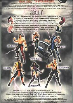 Mortal Kombat FULL SET 6 MOC Infinite Concepts 2000 7.5 / 8.5 SUPER RARE! HTF