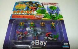 Mutant Turtles Mini Turtles Super Turtles Set vintage rare Playmates Takara 1984