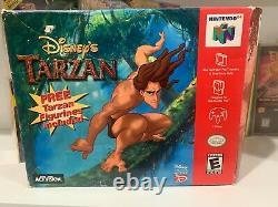 N64 Disney's Tarzan Big Box Variant Figurine Set CIB Super RARE Exclusive