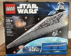 NEW FACTORY SEALED LEGO Star Wars Super Star Destroyer (10221) RETIRED RARE