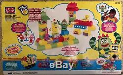 NEW Mega Bloks Yo Gabba Gabba Super Set 75 pcs RARE
