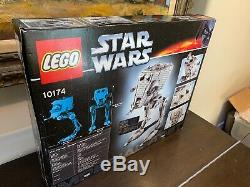 NEW SEALED Lego Star Wars 10174 UCS Imperial AT-ST Set! SUPER RARE
