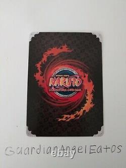 Naruto TCG CCG Sasuke Uchiha The Hawk Super Rare English Near Mint Set 22 Foil